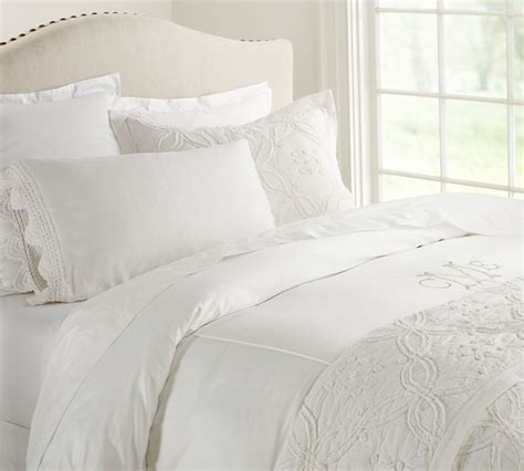 bed shams candlewick quilt pillowcase pottery barn au