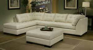 Transitional Sofas Omnia Leather Newport Sectional