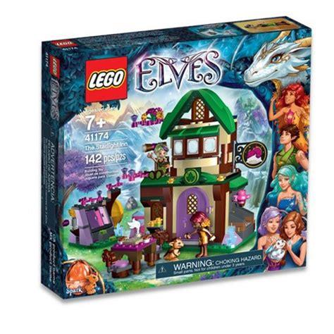 Mainan Lego Lego Elves 41174 41174 lego elves starlight herberg