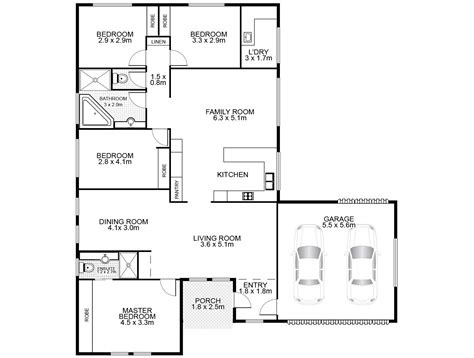 layout house floor plan floor plans surroundpix