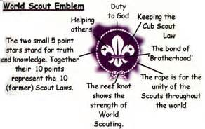 Badge Meaning Kv Eluru Scouts And Guides Scout Emblem
