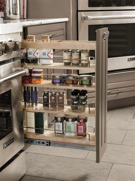 Slim Kitchen Pantry The Most Of A Slim Space S Base Pantry