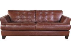 cindy crawford couch the brick family room reno on pinterest leather sofa brown