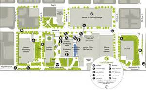 Seattle Center Map by Live At Seattle Center Transportation Mercer Street Garage