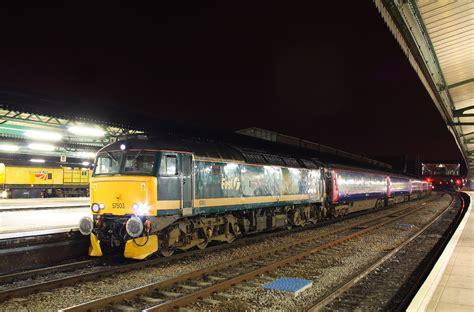 Penzance Sleeper by Class 57