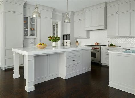 Light Gray Cabinets Kitchen Light Grey Kitchen Cabinet Paint Quicua