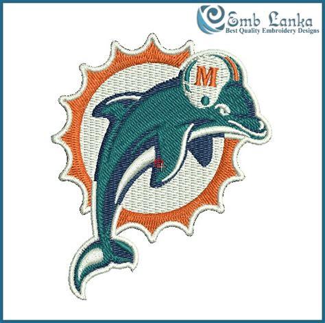 embroidery design dolphin miami dolphins logo embroidery design emblanka com