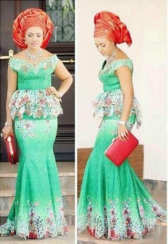 Latest Nigerian Lace Styles And Designs | beautiful lace design dezango fashion zone