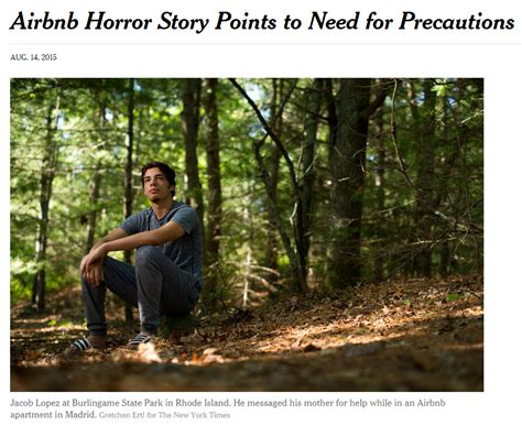 airbnb story new york times quot airbnb horror story points to need for