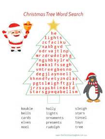 christmas tree word search advent calendar day 3
