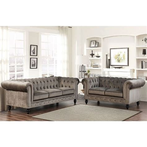 25 best ideas about grey velvet sofa on gray