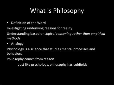 philosophical themes meaning philosophy 101
