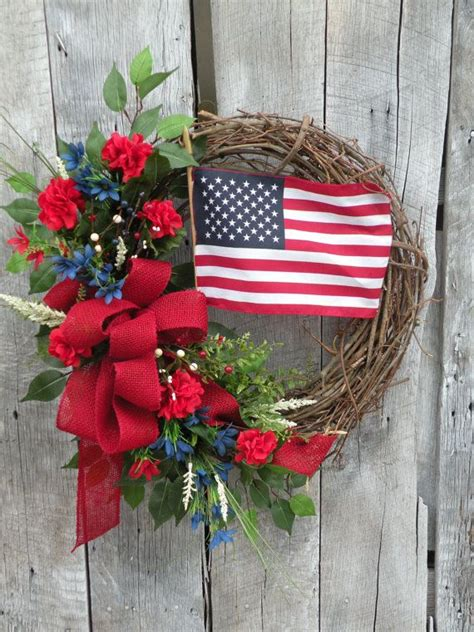 Patriotic Wreaths For Front Door 1000 Images About Front Door Wreaths On Poppies Patriotic Wreath And Magnolias