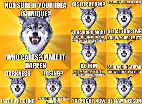Courage Wolf Meme - funny courage wolf memes