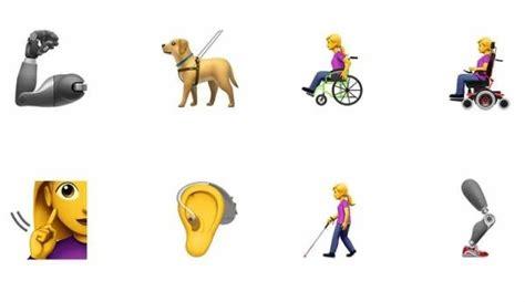 emoji baru iphone apple buat 13 emoji baru untuk penyandang disabilitas