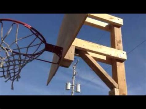 How To Make A Basketball Net Out Of Paper - how to build a basketball hoop for cheap part 5