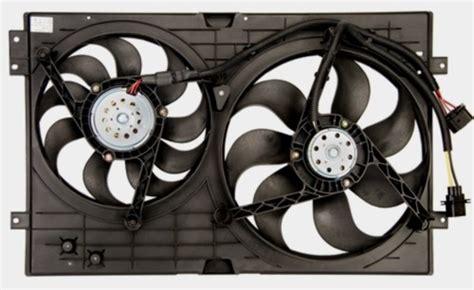 vw polo vwaudi engine radiator cooling fan control module