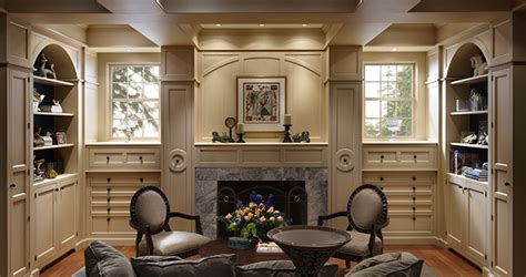 hudson valley home library wood mode fine custom cabinetry