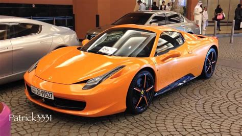 orange ferrari ferrari 458 spider in crazy orange youtube