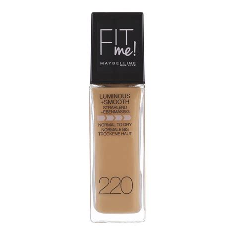 Maybelline Fit Me Foundation 220 buy maybelline fit me luminous smooth foundation