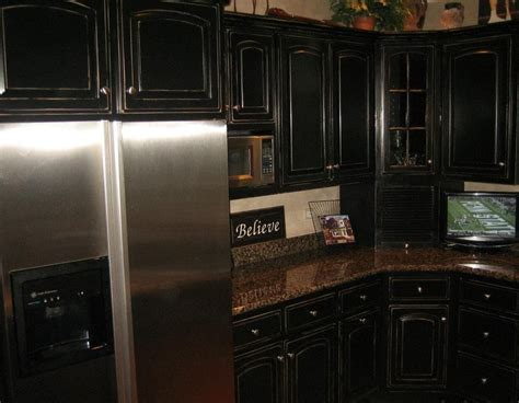 distressed black kitchen cabinets black distressed kitchen cabinets black distressed
