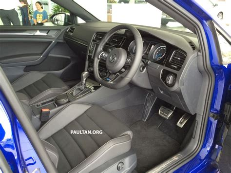 Mk7 Golf R Interior by Volkswagen Golf R Mk7 Now On Sale From Rm247k Image 252436