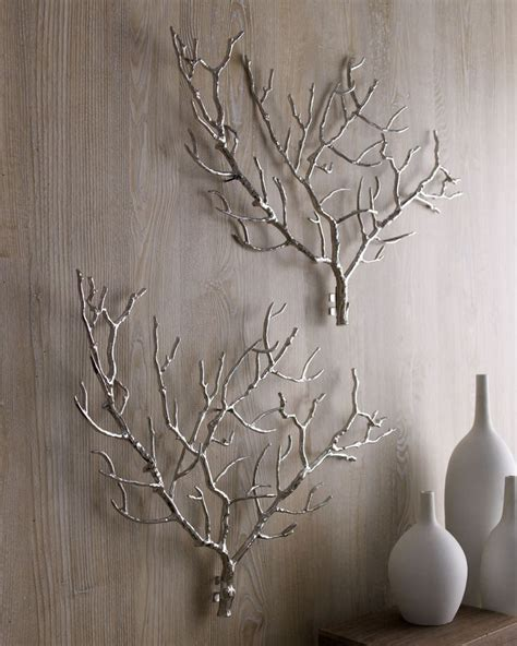 Tree Branch Decorations In The Home Arteriors Tree Branch Wall Decor For The Home