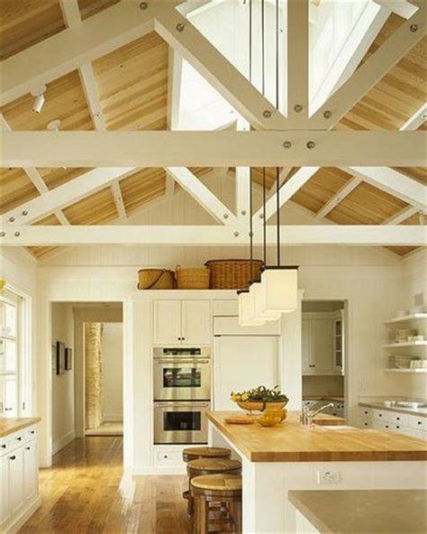 open beam ceiling exposed rafters hay dryer inspiration pinterest
