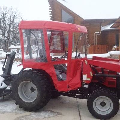 air conditioned lawn mower price tractor cab enclosure kit for mahindra tractors requires