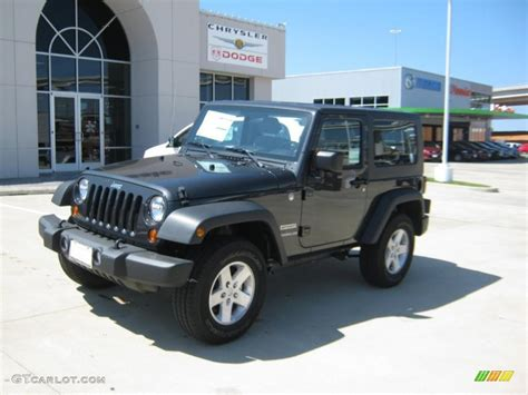 charcoal jeep wrangler 2010 dark charcoal pearl jeep wrangler sport 4x4 35177744