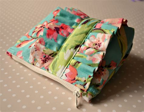 Uk Handmade - make up bag tropical garden uk handmade cosmetics purse in