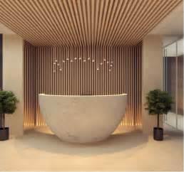 wood reception design interior design ideas