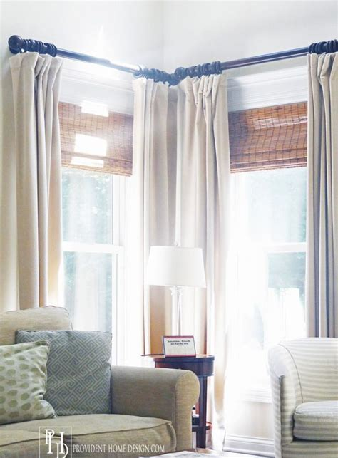 curtains for casement windows 25 best ideas about corner window treatments on pinterest