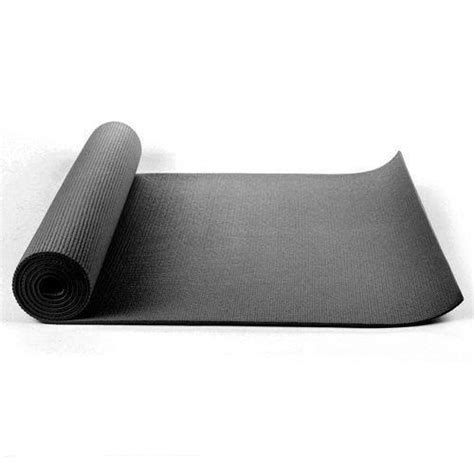 black mat 6mm thick 183cm x 61cm free bag