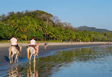 strandvakantie costa rica genieten op het strand