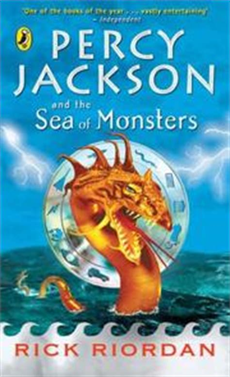 The Sea Of Monsters Cover 8 Th Anniversary Percy J Oleh Rick R percy jackson and the sea of monsters open library