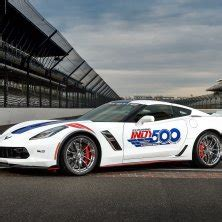 chevrolet corvette grand sport indy  pacecar