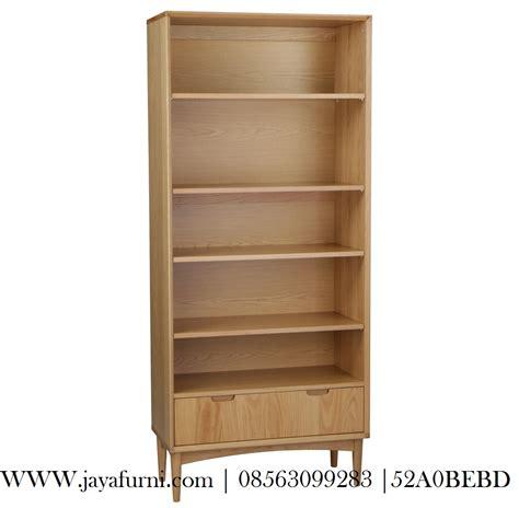 Lemari Minimalis Modern lemari buku minimalis modern laci 1 jayafurni mebel