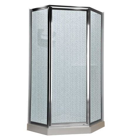 Sterling Intrigue 36 1 8 In X 72 In Neo Angle Shower Angle Shower Doors