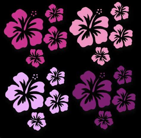 Pinke Blumen Aufkleber F Rs Auto by Wandtattoo Blumen Ornament Lila Schwarz