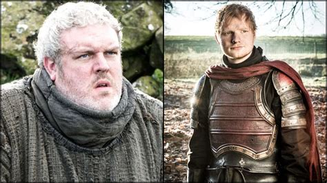 ed actor game of thrones hodor actor hated ed sheeran s cameo in game of thrones