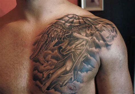 manly tattoos 50 glorious chest tattoos for