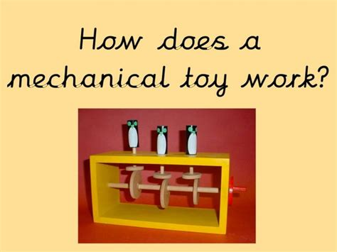 design brief mechanical toy high school design engineering and technology lesson