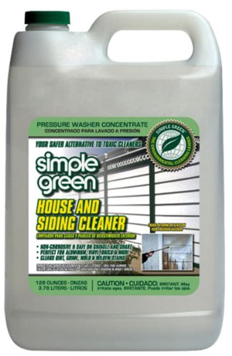 simple green house and siding cleaner simple green 18201 house and siding cleaner 1 gallon bottle shopswell