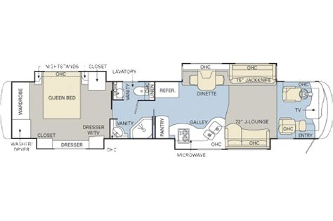 monaco rv floor plans 2007 monaco executive sandia iv photos details brochure
