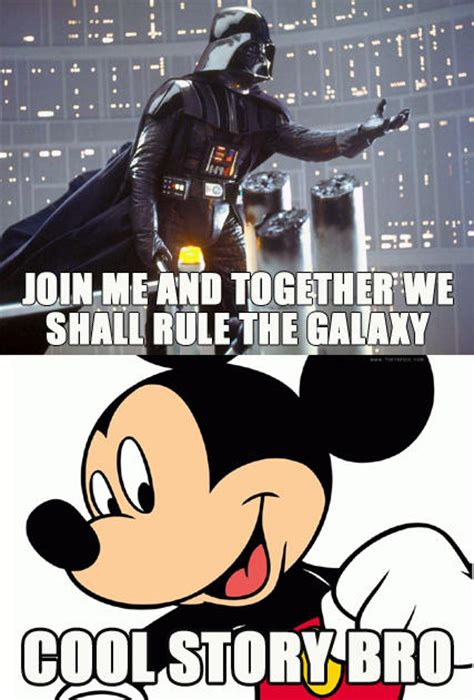 Star Wars Disney Meme - wise of the day disney buys star wars