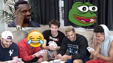 funniest card game   meme game hype youtube