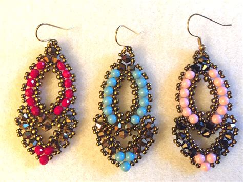 beaded earrings tutorial add beaded earrings jewelry collection bingefashion