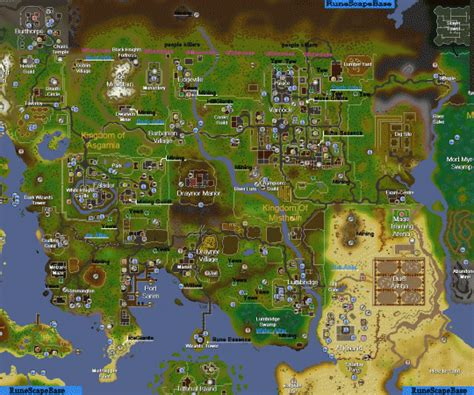 runescape 2007 map 2007 runescape map old school newhairstylesformen2014 com