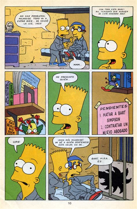 fotos de marge y bart cojiendo poringa historietas de garfield comic 2 de los simpson quot el astuto bart quot im 225 genes taringa